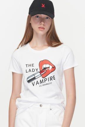 THE LADY VAMPIRE GRAPHIC TEE