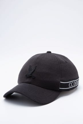TWILL CAP WITH LOGO TAPE