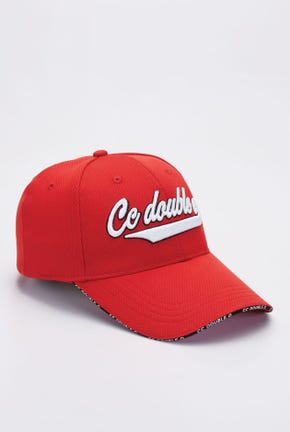 LOGO CAP WITH CONTRAST COLOR BRIM