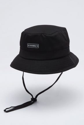 LOGO BUCKET HAT WITH CHAIN STRAP